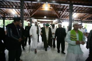 with Habib Syech Assegaf in Demak